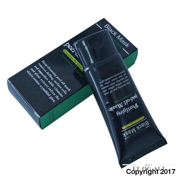 Black Mask - Sort Peel Off Maske Mod Hudorme 50 Ml - 1 Stk