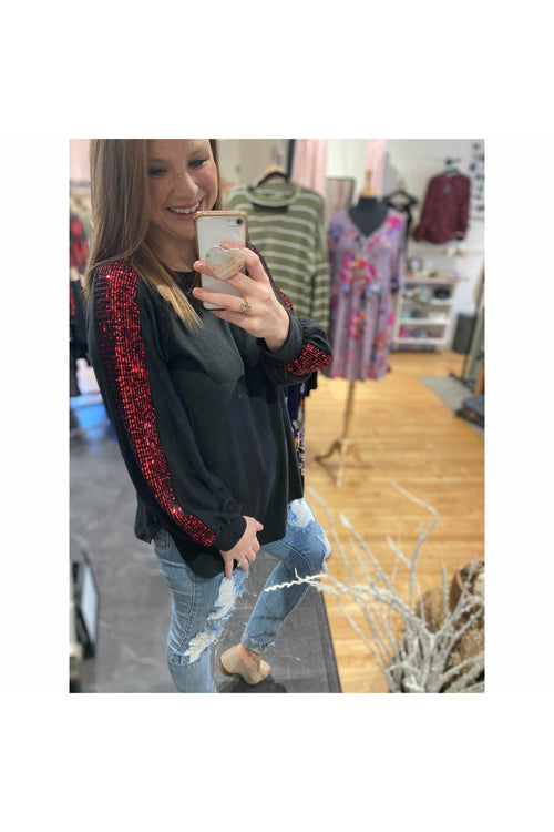 Sparkle and Sequin Top