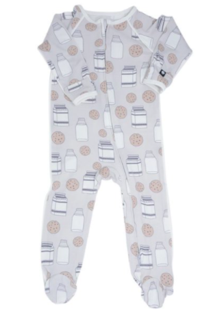 Milk & Cookies Footies-Baby-Wild & Precious