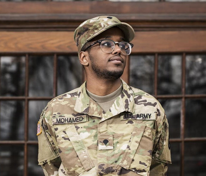 Abdirahman Mohamed - US Army: E-4. Specialist and Somali Refugee