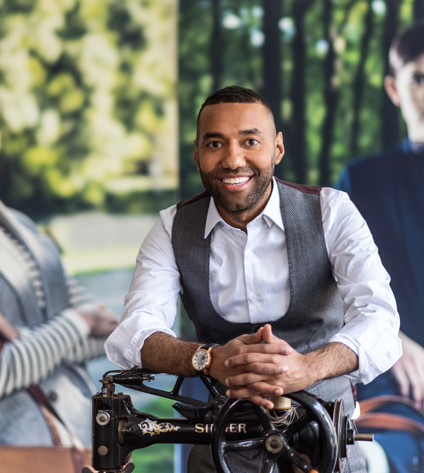 Omar Munie : International Fashion Designer, Humanitarian and Somali-Dutch Refugee