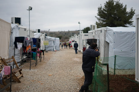 Refugee camps struggling during the coronavirus pandemic