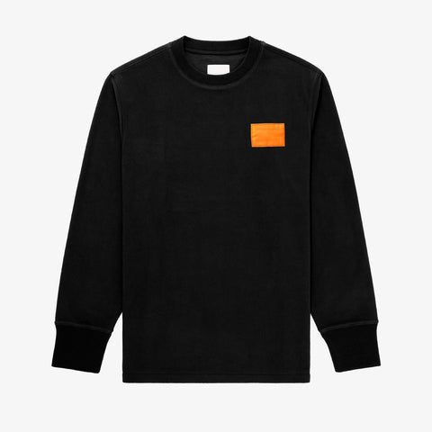 Life Jacket Crewneck Black