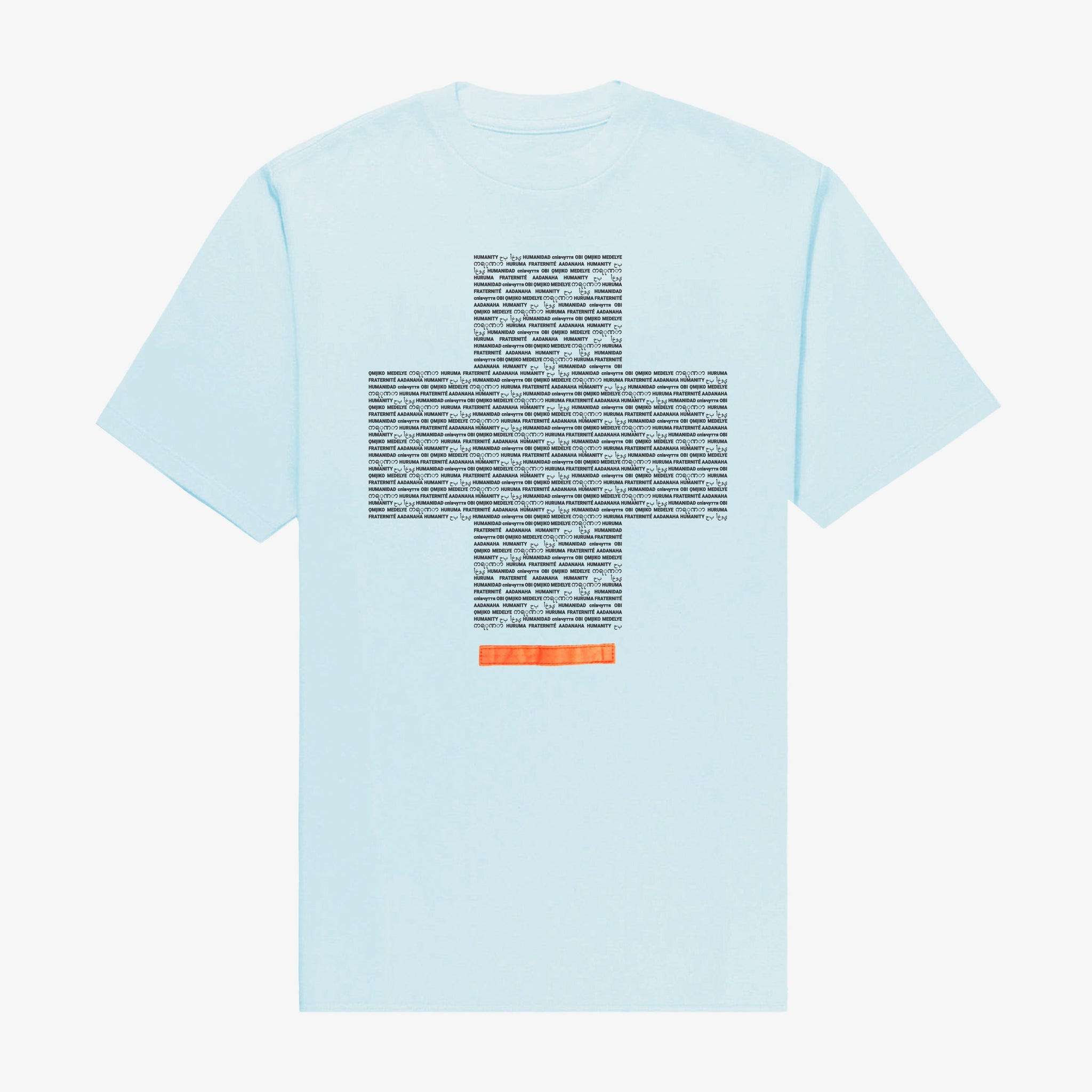 Humanity T-Shirt Sky Blue
