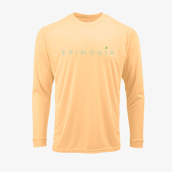 Long Sleeve T-Shirt Peach