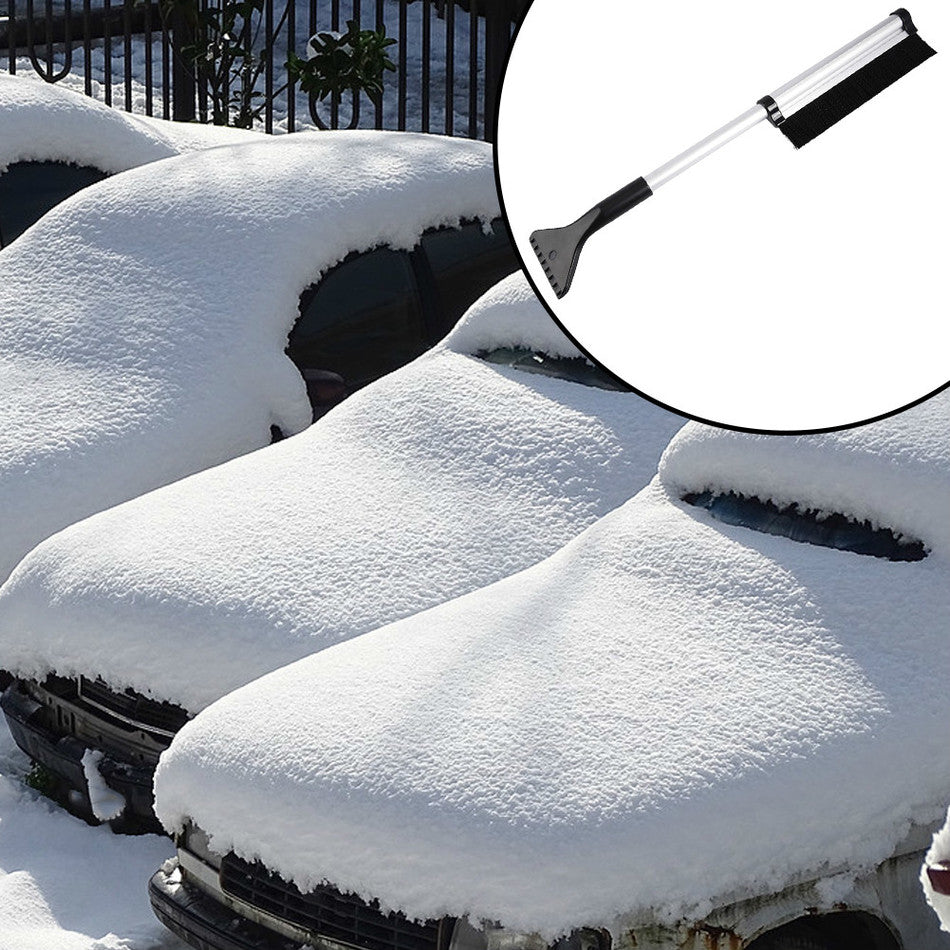 Extendable Snow Brush & Ice Scraper - Trending Pro