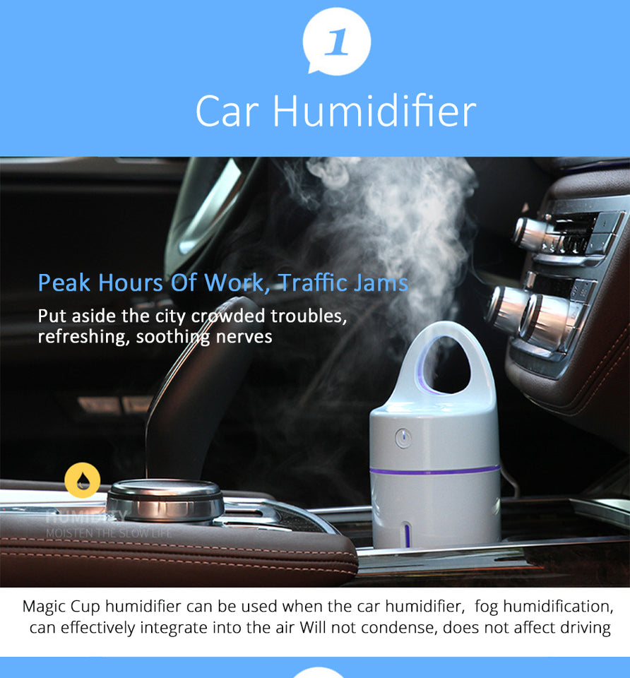 Car Essential Oil Diffuser - Trending Pro
