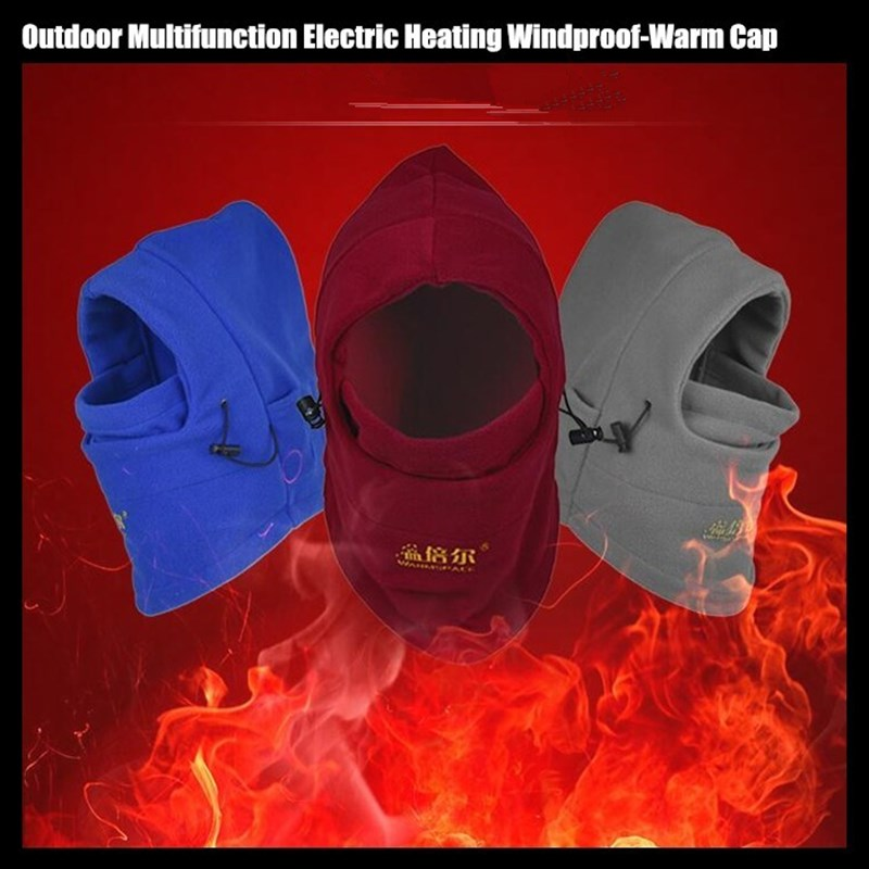 Electric Heated Thermal Warm Face Balaclava Mask - Trending Pro