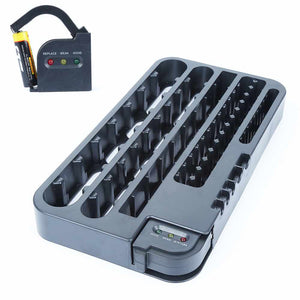 Battery Organizer With Removable Volt Tester - Trending Pro