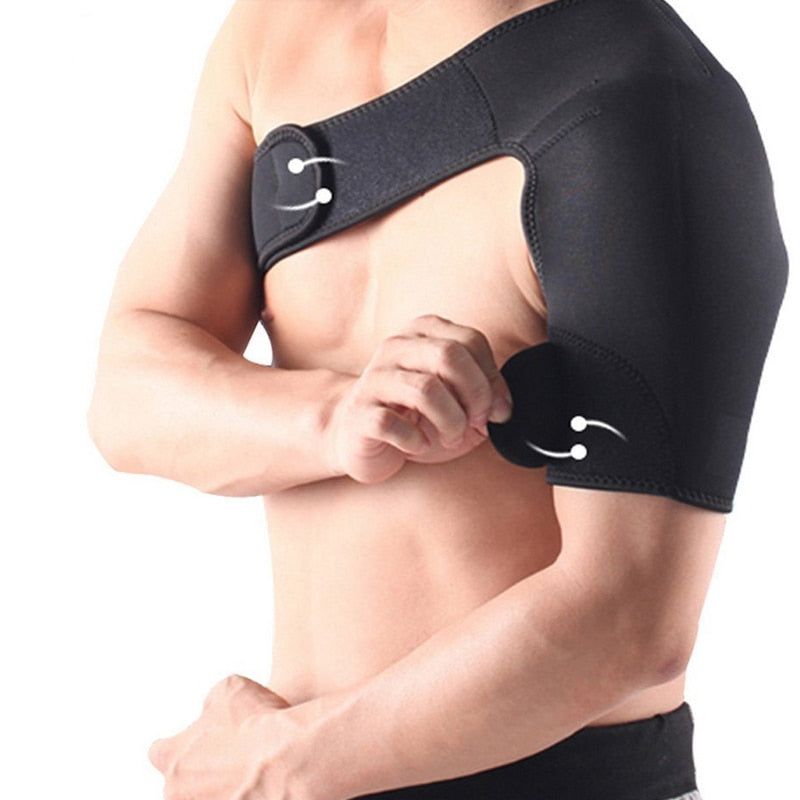 Official Heated Electric Shoulder Injury Brace Rotator Cuff Support - Trending Pro