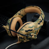 Camouflage Gaming Headset for PS4, PC, Xbox One - Trending Pro