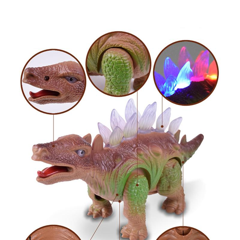LED Light Up and Walking Realistic Dinosaur - Trending Pro