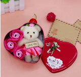 Flower Soap with Teddy Bear - Trending Pro