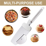 4 in 1 Stainless Steel Pizza Cutter - Trending Pro