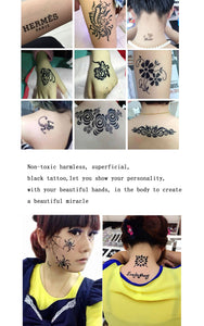 Natural Herbal Temporary Tattoo Kit - Trending Pro