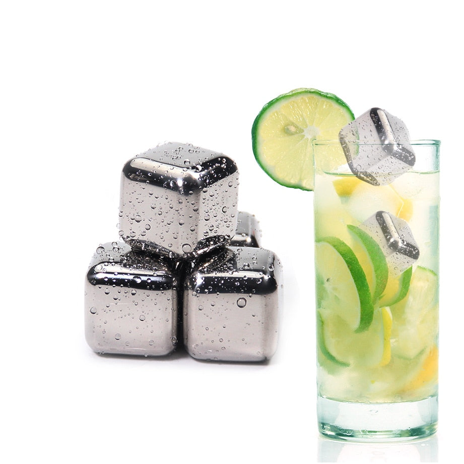 Stainless Steel Drink Chilling Stones - Trending Pro