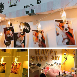 Bright Memories Photo Clip String Lights - Trending Pro