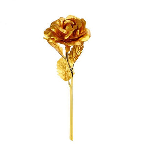 Valentine's Day Gold Plated Rose - Trending Pro