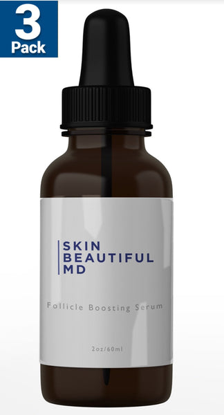 3 Bottles Of Skin Beautiful MD Follicle Serum +Free Bonus Bottle Of Inner Beauty For $72