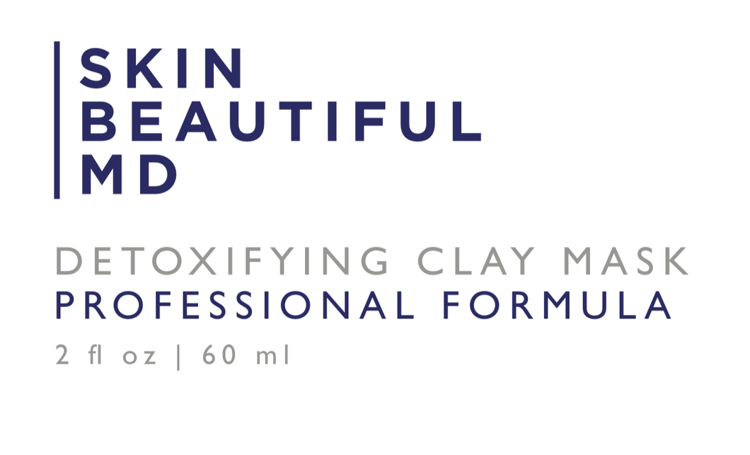 Skin Beautiful MD Detoxifying Clay and Charcoal Mask 3 Pack