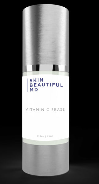 Skin Beautiful MD Wrinkle Erase C Serum (Smooths Face Instantly Without Toxins)