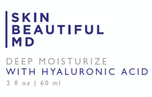 3 Pack: Deep Moisturize With Hyaluronic Acid