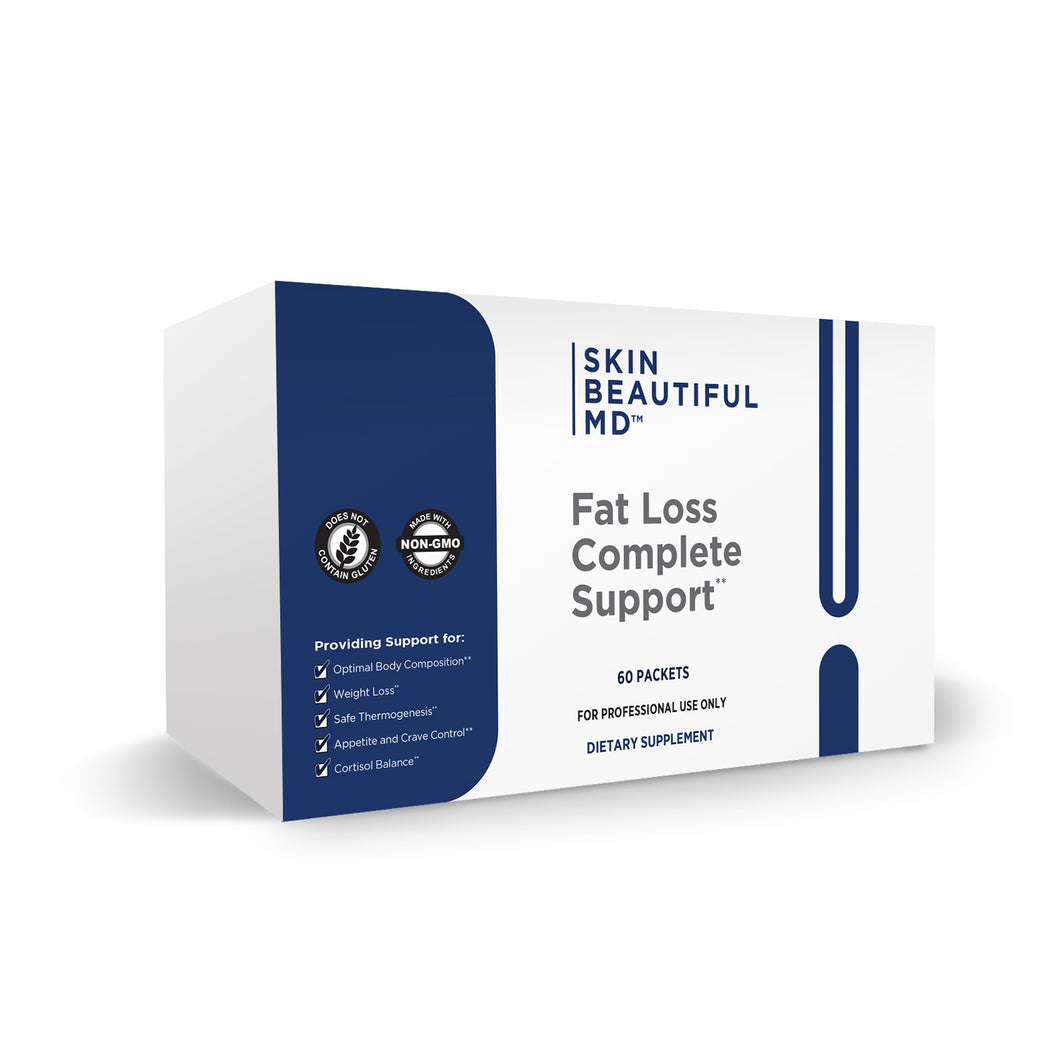 Skin Beautiful MD Fat Loss Complete Support (3 in 1 Daily Packs)