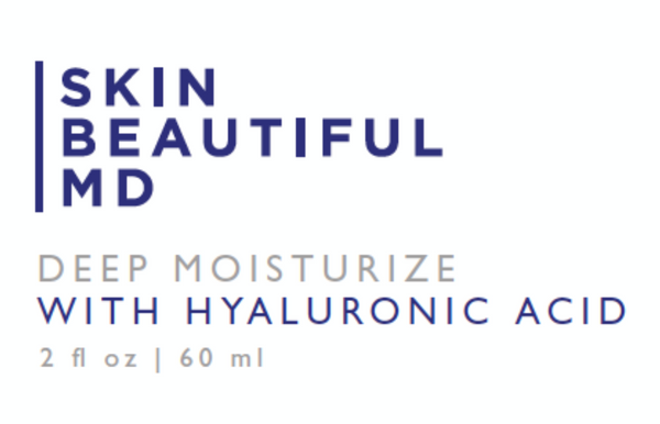 Skin Beautiful MD Deep Moisturizer With Hyaluronic Acid
