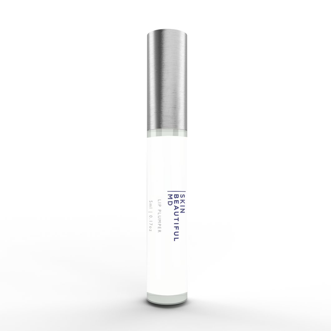 Skin Beautiful MD Lip Collagen Builder and Line Smoother (features pharmaceutical-grade peptides)