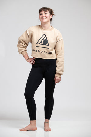 Symbol Crop Sweat