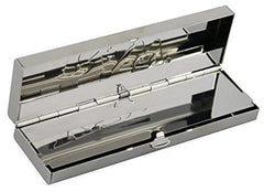 Raw Stainless Steel Connoisseur Case - Kingsize Slim