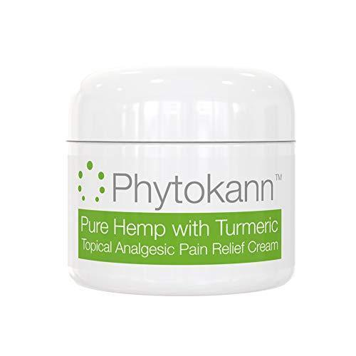 Pure Hemp with Turmeric Topical Pain Relief Cream for Arthritis, Joint Pain, Inflammation, Back, Knee, Neck, Feet, Muscle Soreness, and Fibromyalgia and Carpel Tunnel Relief