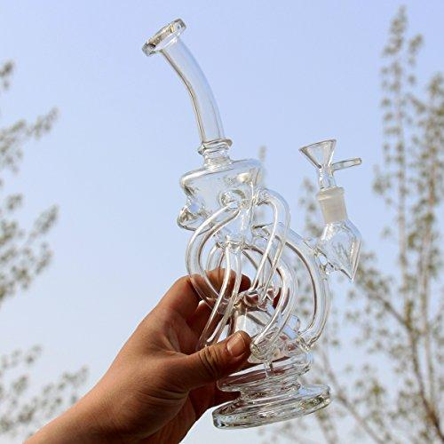 2M-GLASS Home Decoration Recycler vase Accessories Percolator Bowl 14.4mm 11in Best Gift for a Friend (6)