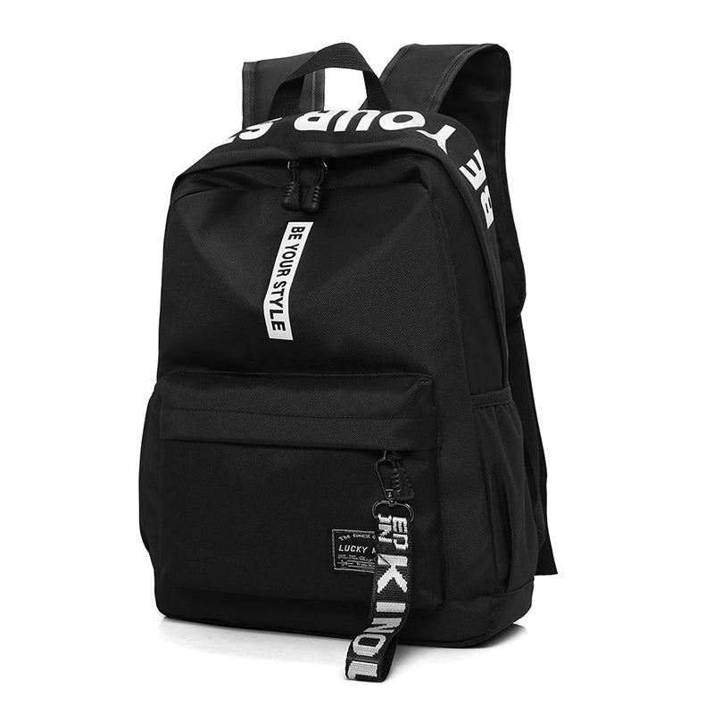 fc5ae8bb91 New Design Men s Nylon Backpacks Male Casual Travel Fashion women Teenagers  Student School Bags Simple Notebook