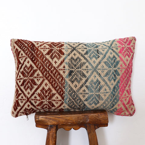 African mudcloth pillow no. 110