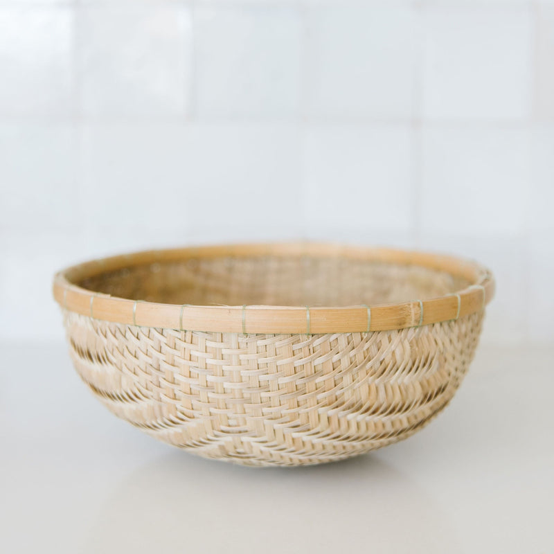Natural Bamboo Bowl
