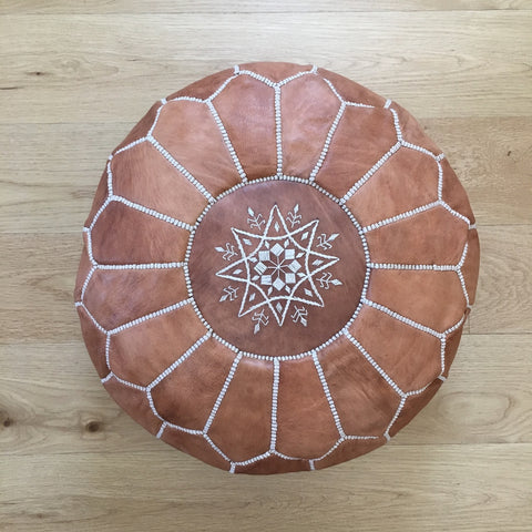 Moroccan floor pouf no. 1