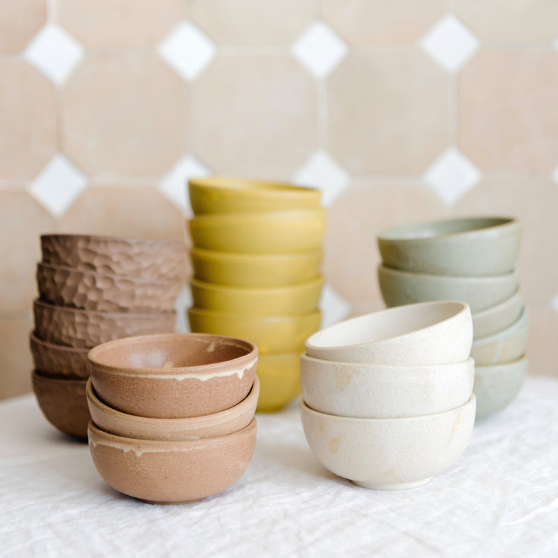 Stacking spice bowls
