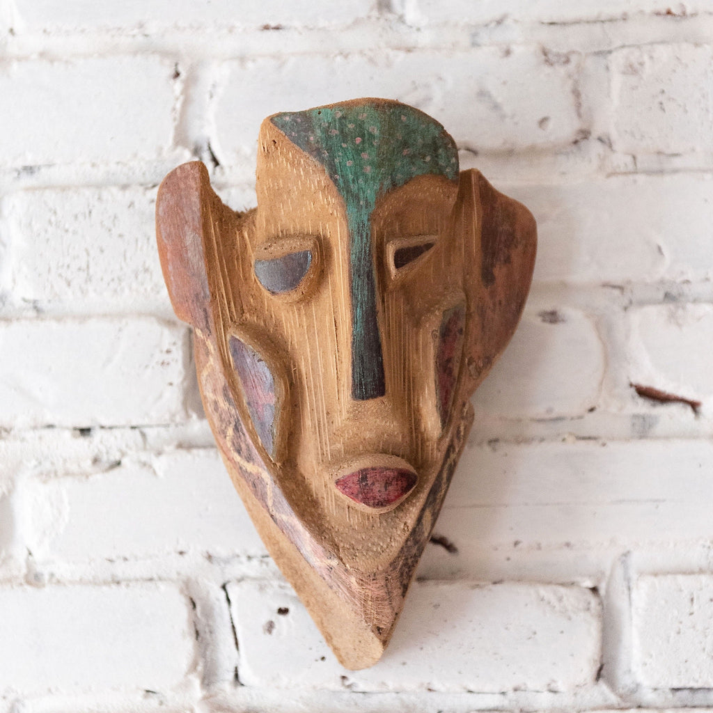 Primitive wood mask