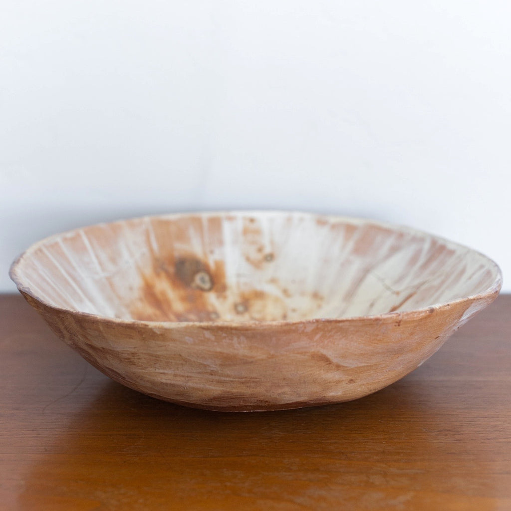 XL pottery bowl