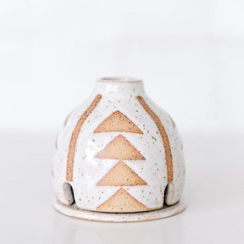 Ceramic Incense Hut
