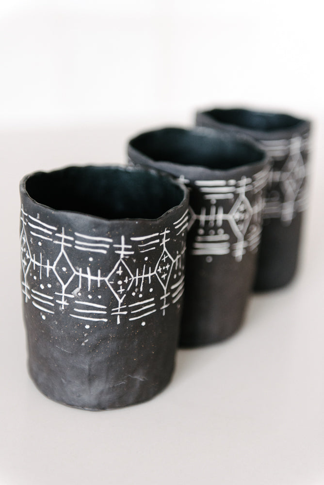 Mud Cloth Tumbler