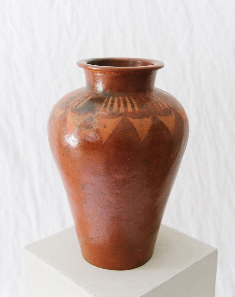 XL tribal vase