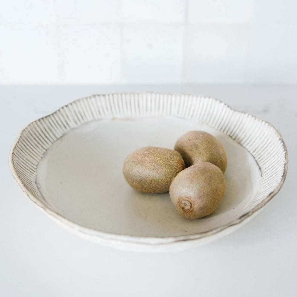 Warp Weft Fruit Bowl