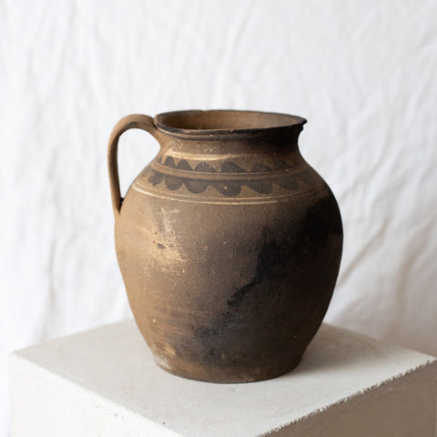 Studio pottery jar