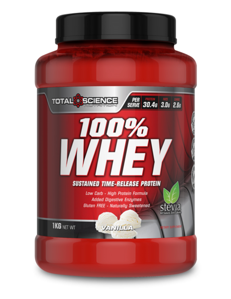 Total Science - 100% WHEY 1KG - SuppsAustralia.com.au