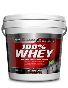 TOTAL SCIENCE NUTRITION - 100% Whey 4 KG bucket - SuppsAustralia.com.au