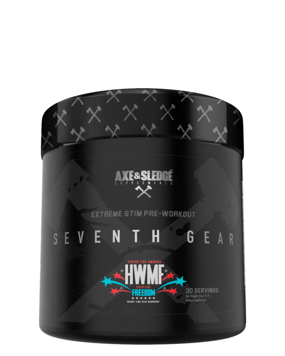 AXE & SLEDGE - SEVENTH GEAR // EXTREME PRE-WORKOUT (30 serves)