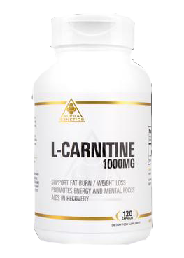 Alpha G3netics - L-Carnitine (1000mg Capsules) - SuppsAustralia.com.au