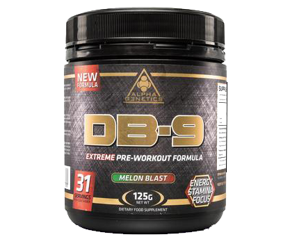 Alpha G3netics - DB-9 (Pre-Workout) - SuppsAustralia.com.au